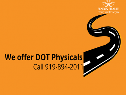 We Offer DOT Physicals